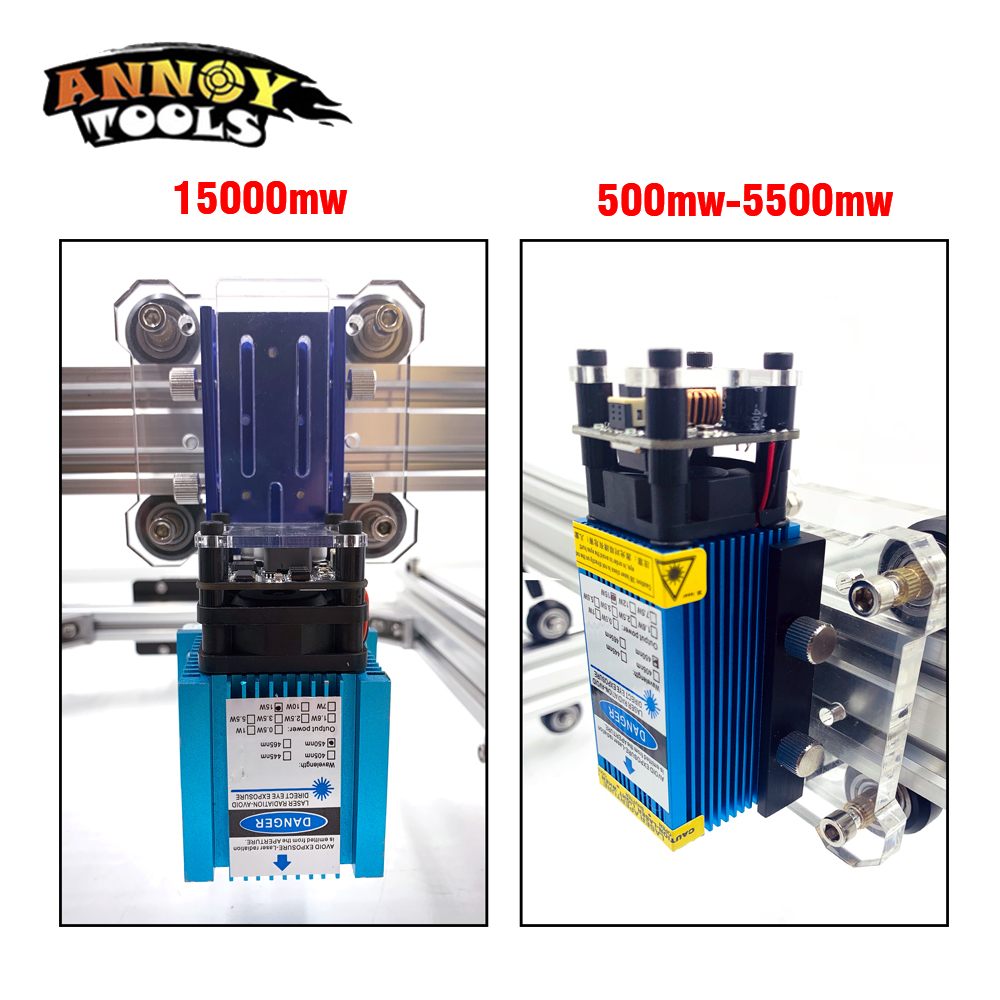 CNC Laser Engraving Machine 2500mW 3500mW 5500mw 15000mw Laser Module 2