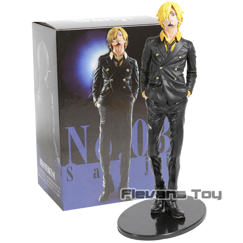 <font><b>One</b></font> <font><b>Piece</b></font> <font><b>Ichiban</b></font> <font><b>Kuji</b></font> Sanji The Best Edition PVC Figure Model Collection Figurine Toy image