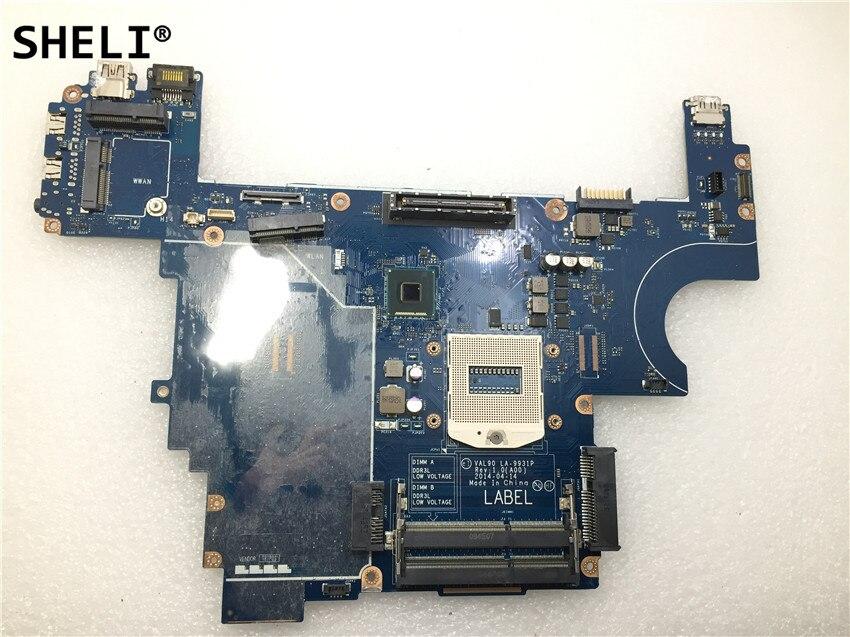 SHELI Pour Dell Latitude E6440 mère d'ordinateur portable LA-9931P