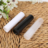 Hot Sale 50pcs Lot Empty Plastic Clear LIP BALM Tubes Containers Lipstick Fashion Cool Lip Tubes
