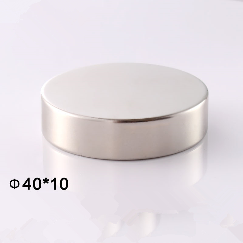 N50 40mm x 5 mm 40mm x 10 mm Super Strong Round Magnets Neodymium Magnet Rare Earth Magnet 1pcs new 5pcs 15 mm x 5 mm strong ring magnets countersunk hole 5 mm rare earth neodymium circular magnet neodymium magnet