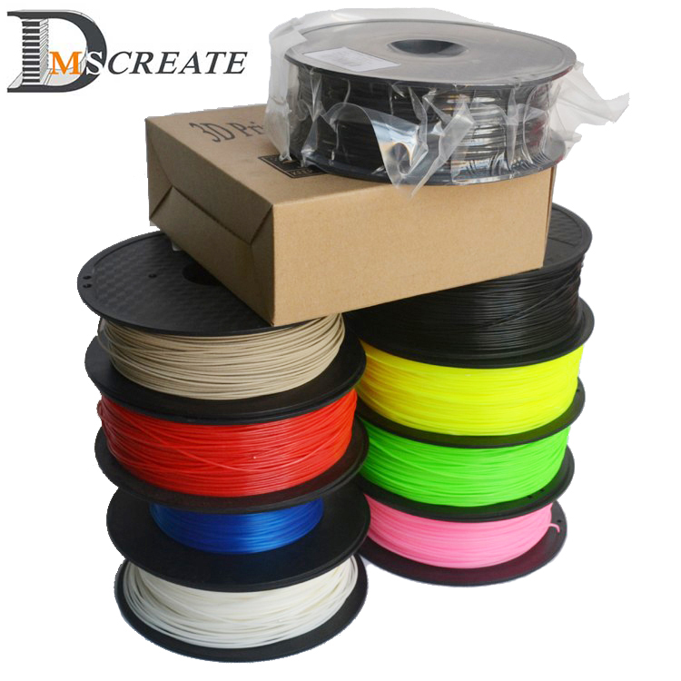 Good quality 3d printer filament PLA/ABS 1.75mm/3mm 1KG wholesale price best quality 1kg emodin 98