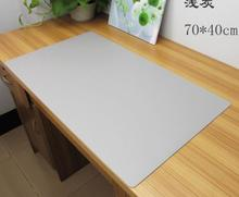 70*40cm PU leather Business office Desk mat Computer desk pad