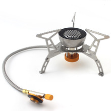 Outdoor Picnic Stove Camping Split Portable Wind Resist Gas Stoves
