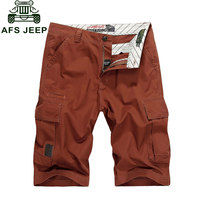 2015 New Summer Breathable Yellow Red Casual Pure Cotton Shorts Large Fashion Beach Army Plus Size