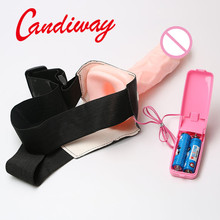 Dildo Toys Top Quality Adult Sex Toys,cock vibrator Brief Strap-On,Double Dongs strap on,massager,couple lesbian sex game