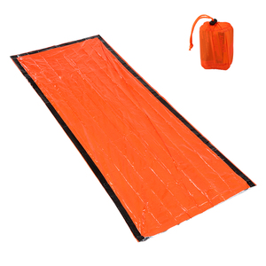 Image 2 - 新しい高品質軽量キャンプ寝袋屋外緊急寝袋巾着袋キャンプ旅行ハイキング