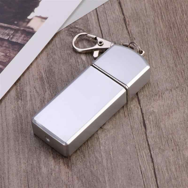 Nuevo Cenicero de cigarrillos portátil para uso al aire libre soporte de ceniza de bolsillo para fumar bandeja de ceniza con tapa llavero para viajar