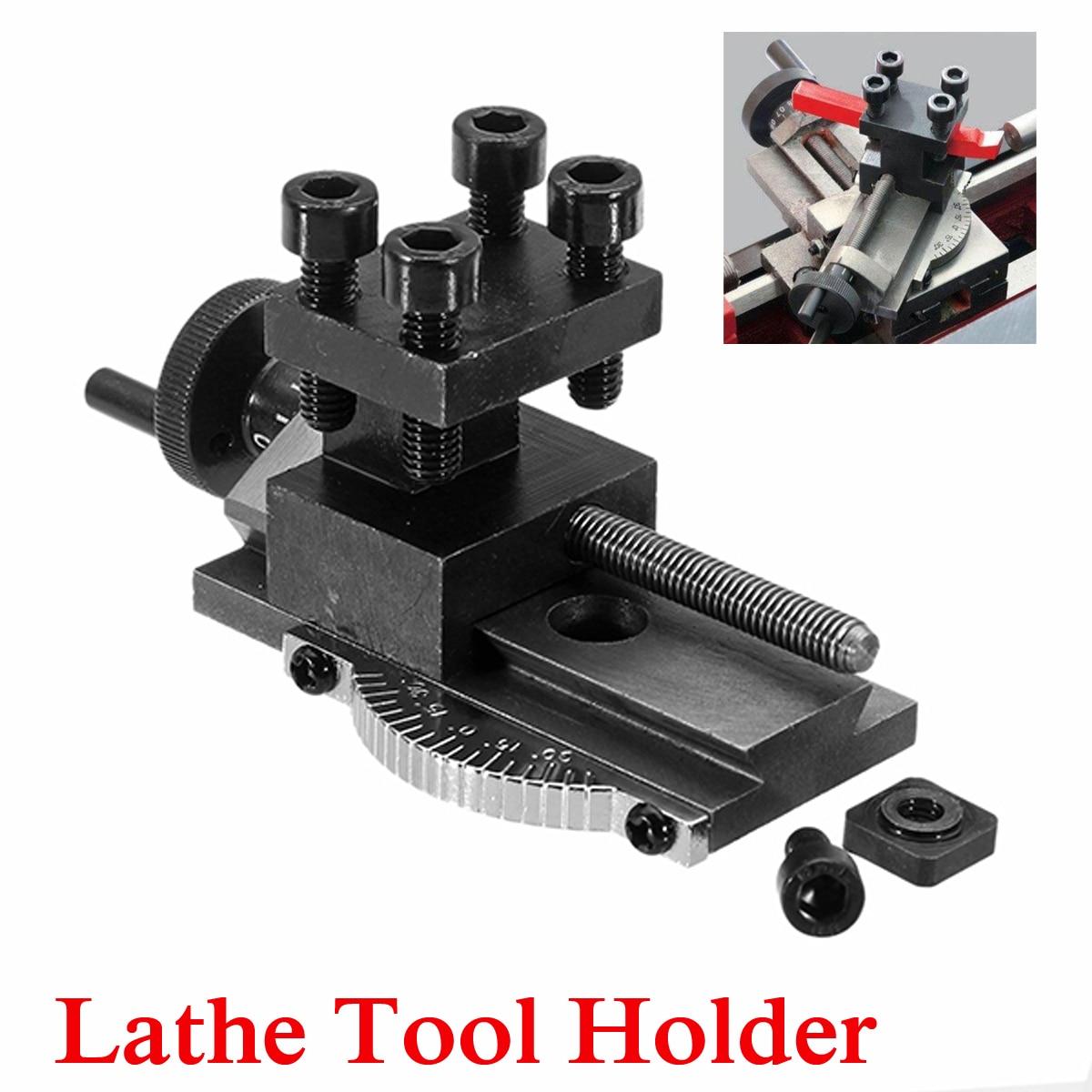 1Pcs Rotatable Lathe Tool Holder S/N-10154 Mini Rotatable Lathe Tool Holder Mini Lathe Accessory For SIEG C0 Mini Lathe