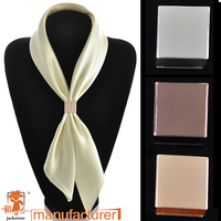 Scarecrow spot scarf buckle quality high-grade copper  stereo rectangular scarf buckle hot models