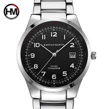 Men Top Luxury Brand Sports Wristwatch Calendar Display Silver Pilot Wa