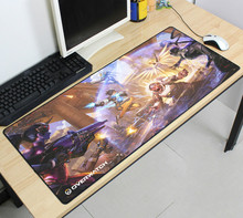 900x400x3MM Overwatchs Gaming Large Supersize Mouse pad Overlock Desktop Keyboard Mat for Gamers