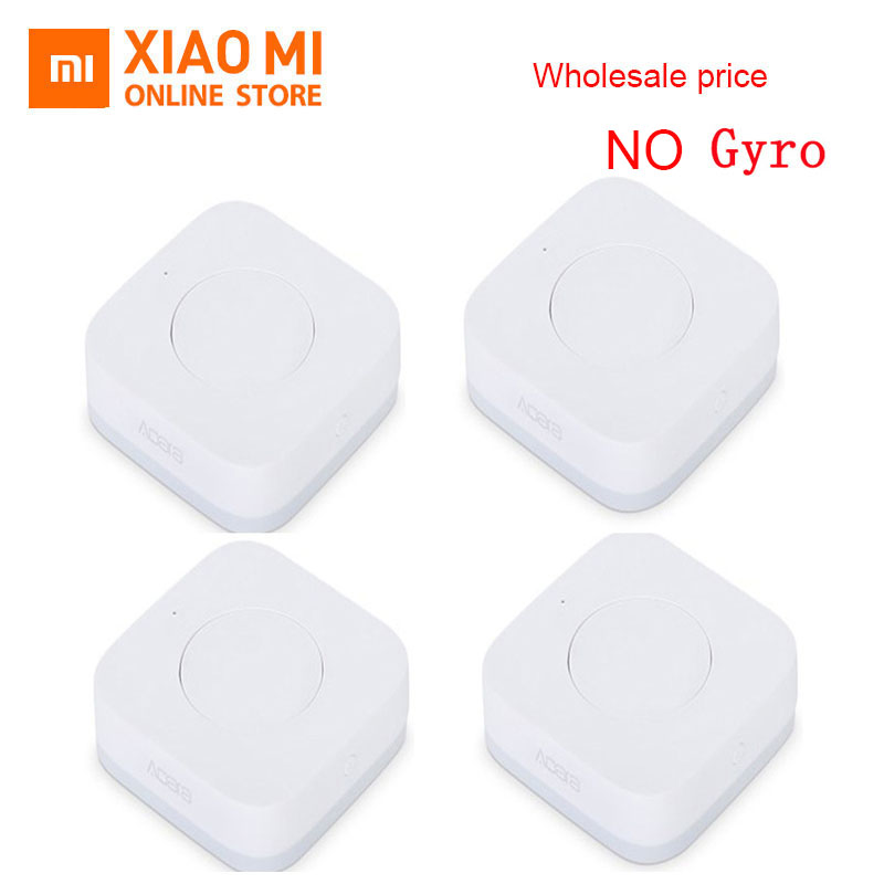 Original Wholesale Xiaomi Aqara Smart Wireless Switch Intelligent Application Remote Control ZigBee Wifi Connection For Doorbell
