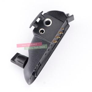 Image 5 - Walkie talkie Audio Adapter + 2Pin Headset Für Baofeng BF 9700 UV XR UV 5S UV5R WP BF R6 GT 3WP T 57 UV 9R Für M Interface port
