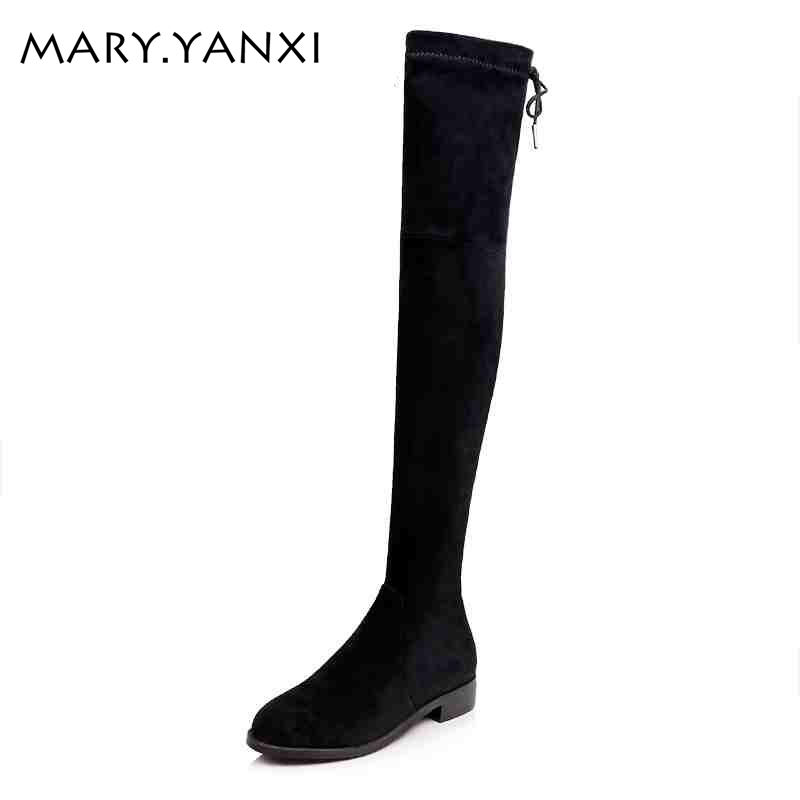 High quality women shoes fashion Zip Bowtie Stovepipe Knight boots Square heel Solid Genuine Leather Over-the-Knee long boots avvvxbw 2016 new brand long boots fashion elastic over the knee boots shoes woman square heel genuine leather thigh high boots