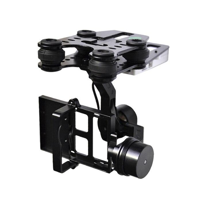 Walkera G-2D 2 оси Камера Бесщеточный Gimbal для iLook +/Gopro Hero3 металл версия