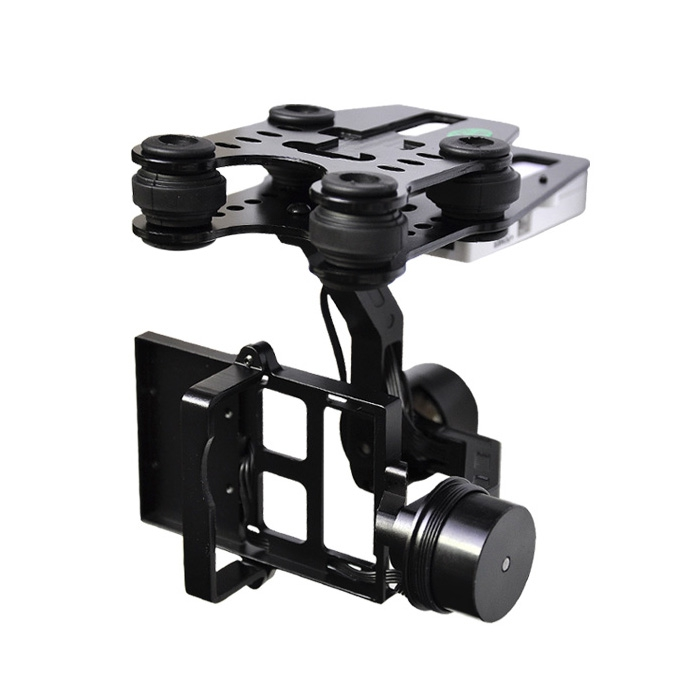 Walkera G - 2D 2-Axis Camera Brushless Gimbal for iLook iLook+ / Gopro Hero3 Metal Version walkera white plastic g 2d brushless gimbal for ilook gopro hero 3 on x350 pro fpv quadcopter te066
