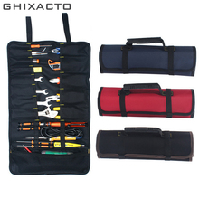 GHIXACTO Multifunction Tool Bags Practical Carrying Handles Oxford Canvas Chisel Roll Bags For Tool 3 Colors New instrument Case