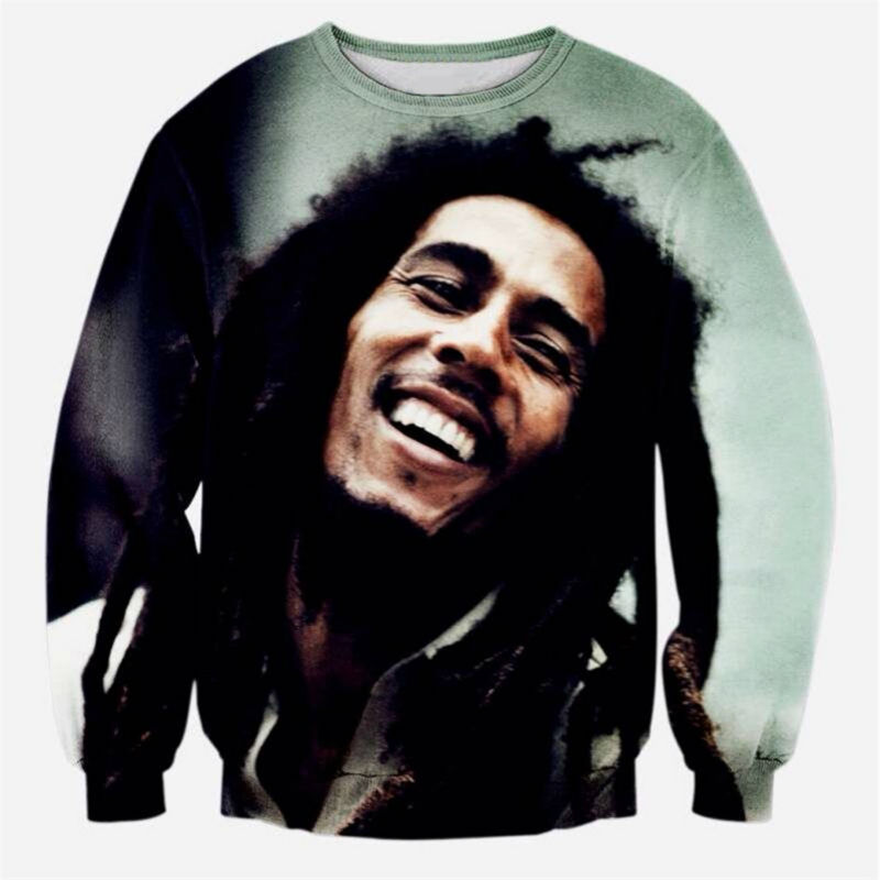Special Design Sweatshirt Men Great Bob Marley 3D Printed Hoodies For Unisex Hip Hop Harajuku Crewneck Pullover Plus Size 5XL