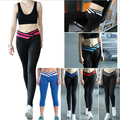Hot Sale Fashion Fitness Leggings Women Patchwork hip push up Beauty Bodybuilding Ankle-Length Slim Pants Leggins Jegging S-XL