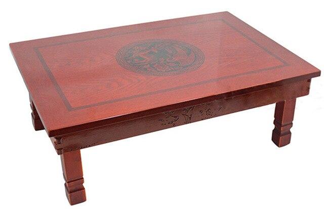 Aliexpress.com: Comprar Madera hecha a mano mesa de comedor coreana  plegable piernas rectángulo 70*48 cm comedor asiático pequeña mesa antigua  ...