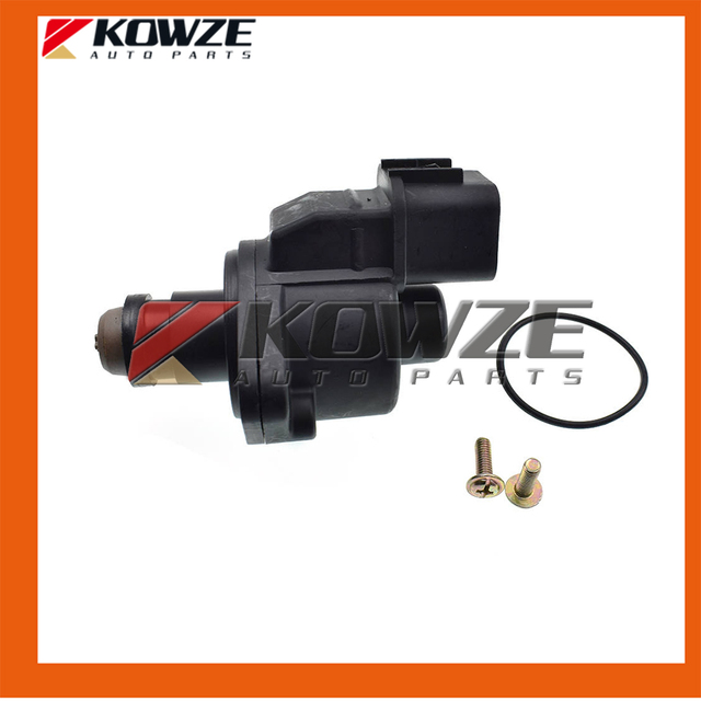 US $25 95 |Throttle Body Idle Speed Control Servo Kit For PAJERO MONTERO  SPORT Challenger Nativa II 2nd Triton L200 MD628059 MD614678-in Air Intakes