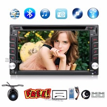 2 din car radio gps navigation steering wheel 2din Radio DVD Player Auto In Dash Stereo Video Car Multimedia Player TV(Option)