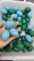 5pcs/lot Natural turquoise eggs Play with furnishing articles wholesale