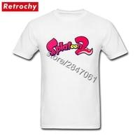 Hip Hop Graphic Splatoon 2 T Shirt Men Wii U Video Game Tee For Men Tees