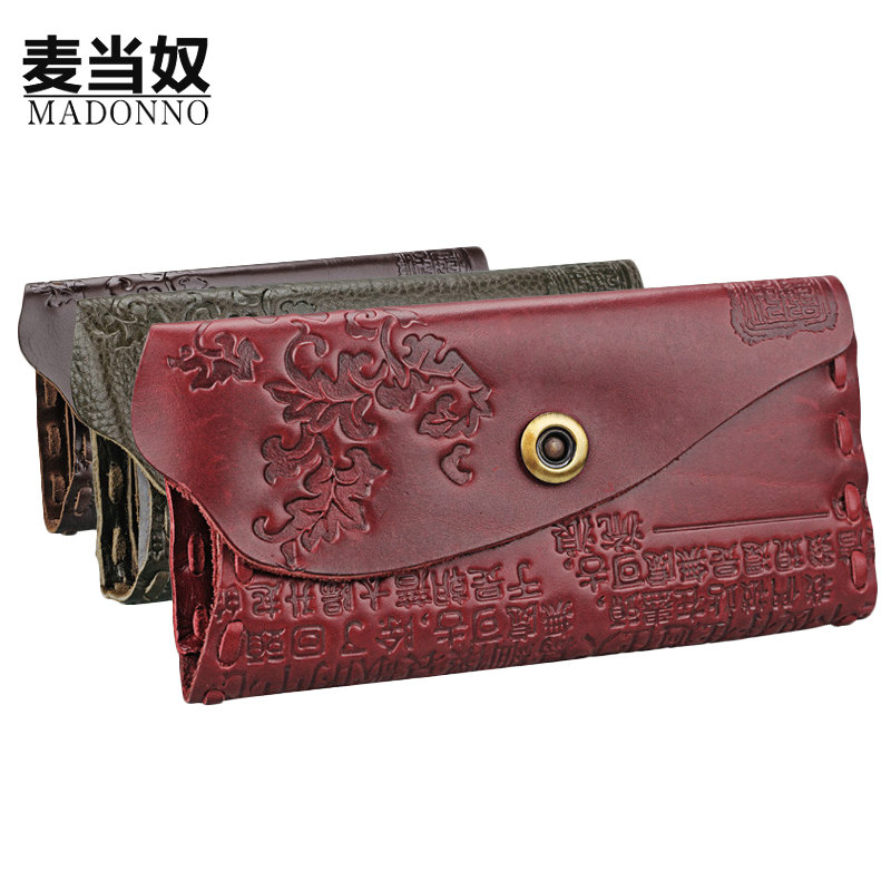 High Capacity Fashion Women Wallets Long Dull Polish Cow Leather Wallet Female Zipper & Hasp Clutch Coin Purse Ladies hand bag-5 fashion wallets long dull polish pu leather double zipper clutch coin purse wristlet high capacity