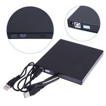 2017 Горячей Продажи USB 2.0 Внешний DVD ROM Player Reader Combo CD-RW Горелки Привод для ПК Высокого Качества