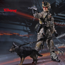 PLAYHOUSE PH Specia Force wholesale 1/6TH Scale U.S. NAVY Seal Team Six with K9 Dog F 12 inch Collectible Military Action Figure