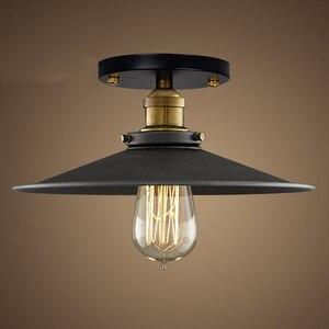 Image 2 - Nowoczesne lampy sufitowe led vintage salon sypialnia plafonnier Luminarias lampara de techo przemysłowe lampy sufitowe