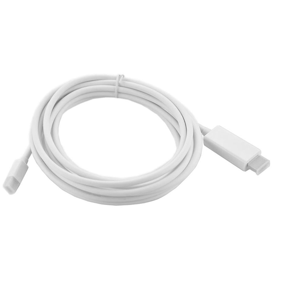 Thunderbolt Mini Display Port Cable For Apple Macbook Pro Displayport To Hdmi Wiring Diagram Dp Male Adapter Hdtv Projector In Audio Video Cables