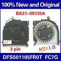 Nueva original para samsung np670z5e np780z5e np870z5e np870z5g np880z5e ba31-00135a cg1j ksb06105ha ventilador enfriador o fc7g ventilador de refrigeración