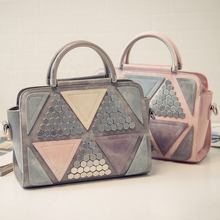 Neueste Design Neue Koreanische Mode Frauen Niet Taschen Handtaschen Luxus Damen Nähen Tasche Süße Mädchen Leder Schulter Umhängetasche