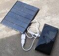 Универсальный 3.5 Вт 6 В Монокристаллического кремния солнечные панели зарядки для мобильного телефона ipad ipod mp3 открытый путешествия отдых велоспорт