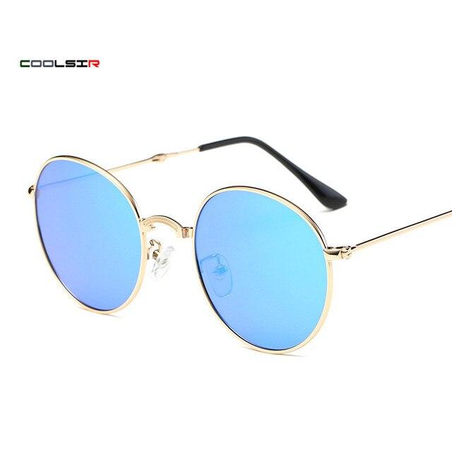 5a531085f77 COOLSIR Polarized Sunglasses Men Sport Eyewear Brand Designer Driving Oculos  De Sol Reflective Coating UV400 With Case KD