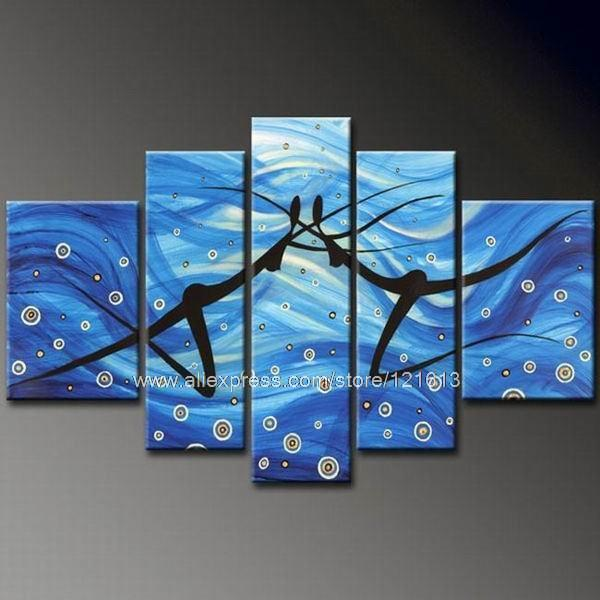 thick texture huge modern wall art beauty on canvas painting glass
