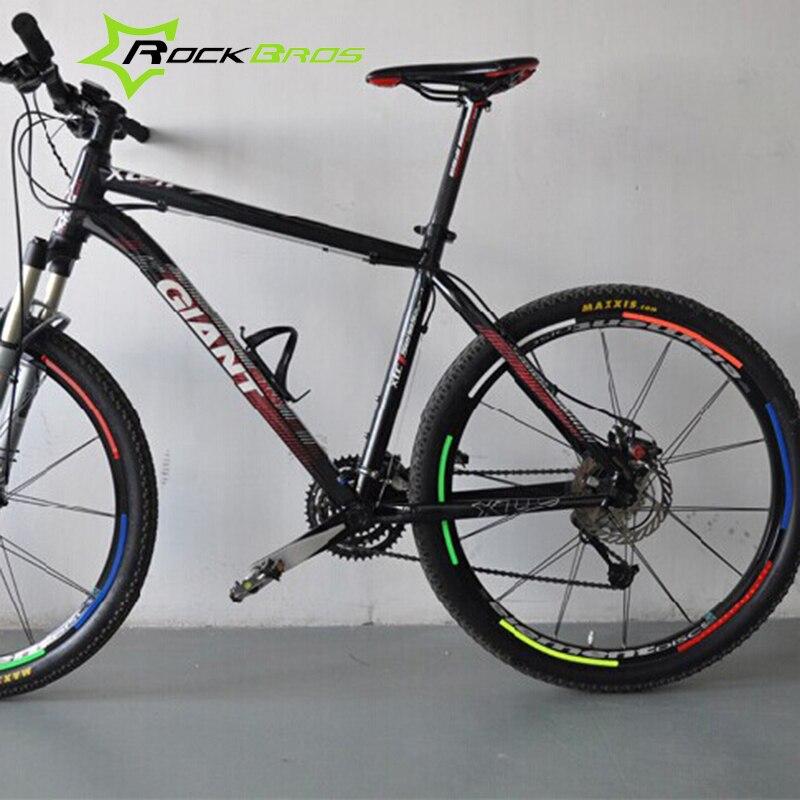ROCKBROS 12pcs Bicycle Accessories Wheel Spokes Reflective ...