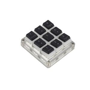 Image 3 - 9 кнопочный QMK Hotswap YMDK RGB с поддержкой функции макросъемки, переключатели типа C MX, механическая клавиатура, цифровая панель для игр, фотошопа