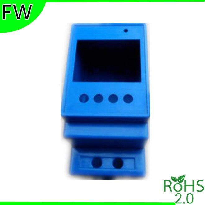 FW Rail electrical box DIN rail modules Box standard rail electrical instrument case enclosure 88*54*36mm