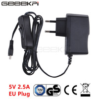GeeekPi Raspberry 5V 2.5A Netzteil Adapter EU/US/UK Stecker Ladegerät mit ON/OFF Schalter kabel für Raspberry Pi 3B +/3B