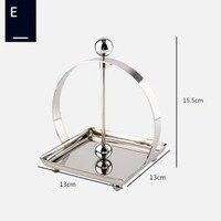 Stainless steel tissue holder/Square tissue holder/ base/Hotel/napkin holder/table creative paper holder