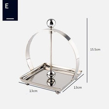 Stainless steel tissue holder/Square holder/ base/Hotel/napkin holder/table creative paper holder