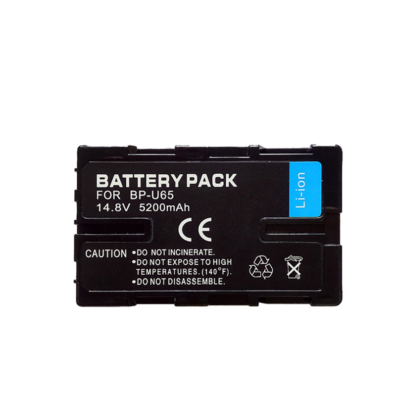 5200mAh for sony BP-U65 BPU65 Digital camera battery Camcorder BP-U30 BP-U60 BP-U65 BP-U90 BP-U95