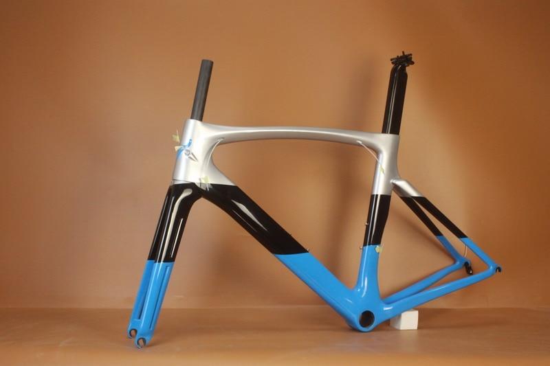 2017 костюм di2 и механические Новый супер свет полный кадр дороги углерода Рама велосипеда дороги Рамка углерода Дорожный 1050г