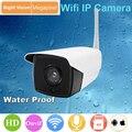 Cámara Ip a prueba de agua IP67 al aire libre IR cut Inicio cctv soporte de la cámara tarjeta SD ONVIF 2.0 720 P HD