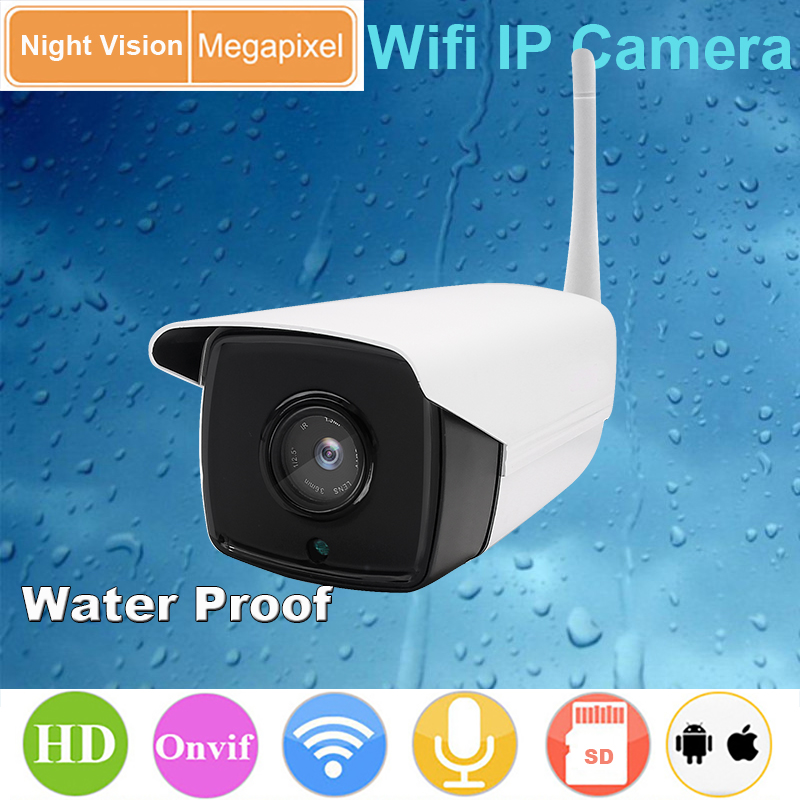 Outdoor Ip Camera waterproof IP67 IR cut Home cctv camera support SD card ONVIF 2 0