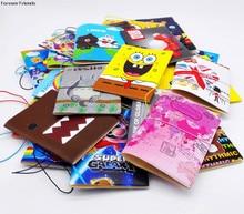 New cartoon passport font b holders b font men travel passport cover pvc leather 3D Design